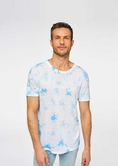 7 For All Mankind Short Sleeve Tie-Dye Tee