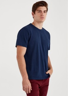 7 For All Mankind Short Sleeve Vintage Tee in Navy