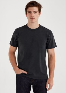 7 For All Mankind Short Sleeve Vintage Tee in Old Black