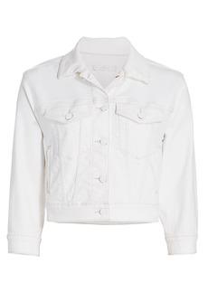 7 For All Mankind Shrunken Denim Jacket