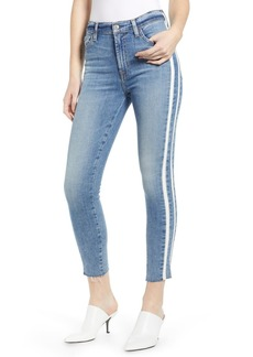 7 For All Mankind Side Stripe Ankle Skinny Jeans