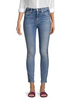 7 For All Mankind Side Stripe Skinny Jeans