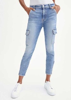 7 For All Mankind Skinny Cargo in Sloane Vintage