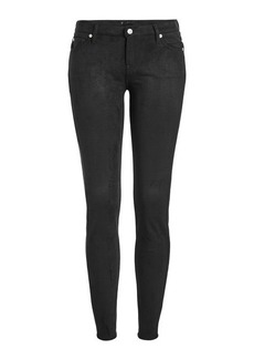 7 For All Mankind Skinny Faux-Suede Jeans