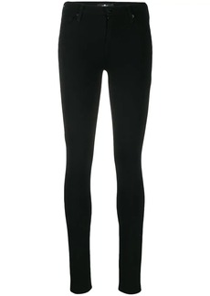 7 For All Mankind skinny fit trousers
