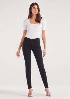 7 For All Mankind Skinny in Night Black