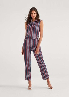 7 For All Mankind Sleeveless Jumpsuit in Star Spangled