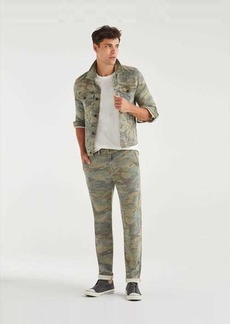7 For All Mankind Slim Chino in Camo