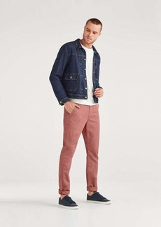 7 For All Mankind Slim Chino in Dusty Rose