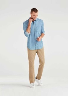 7 For All Mankind Slim Chino in Khaki