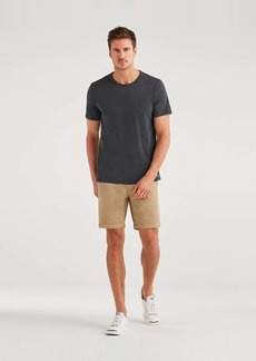7 For All Mankind Slim Chino Short in Khaki