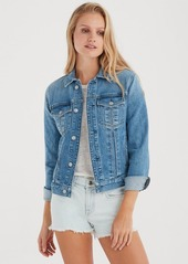 7 For All Mankind Slim Classic Jacket in Desert Oasis