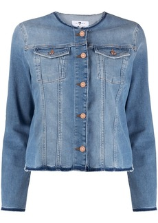 7 For All Mankind Slim Illusion denim jacket