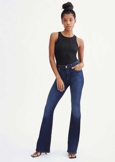 7 For All Mankind Slim Illusion High Waist Ali in Luxe Tried and True