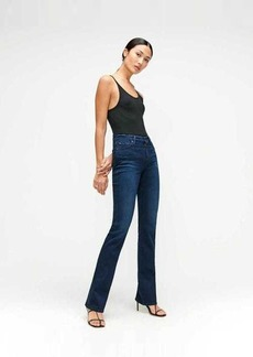 7 For All Mankind Slim Illusion Kimmie Bootcut in Twilight Blue