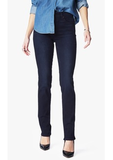 7 For All Mankind Slim Illusion Luxe Kimmie Straight Leg in Twilight Blue
