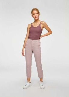 7 For All Mankind Slim Jogger in Soft Lavender