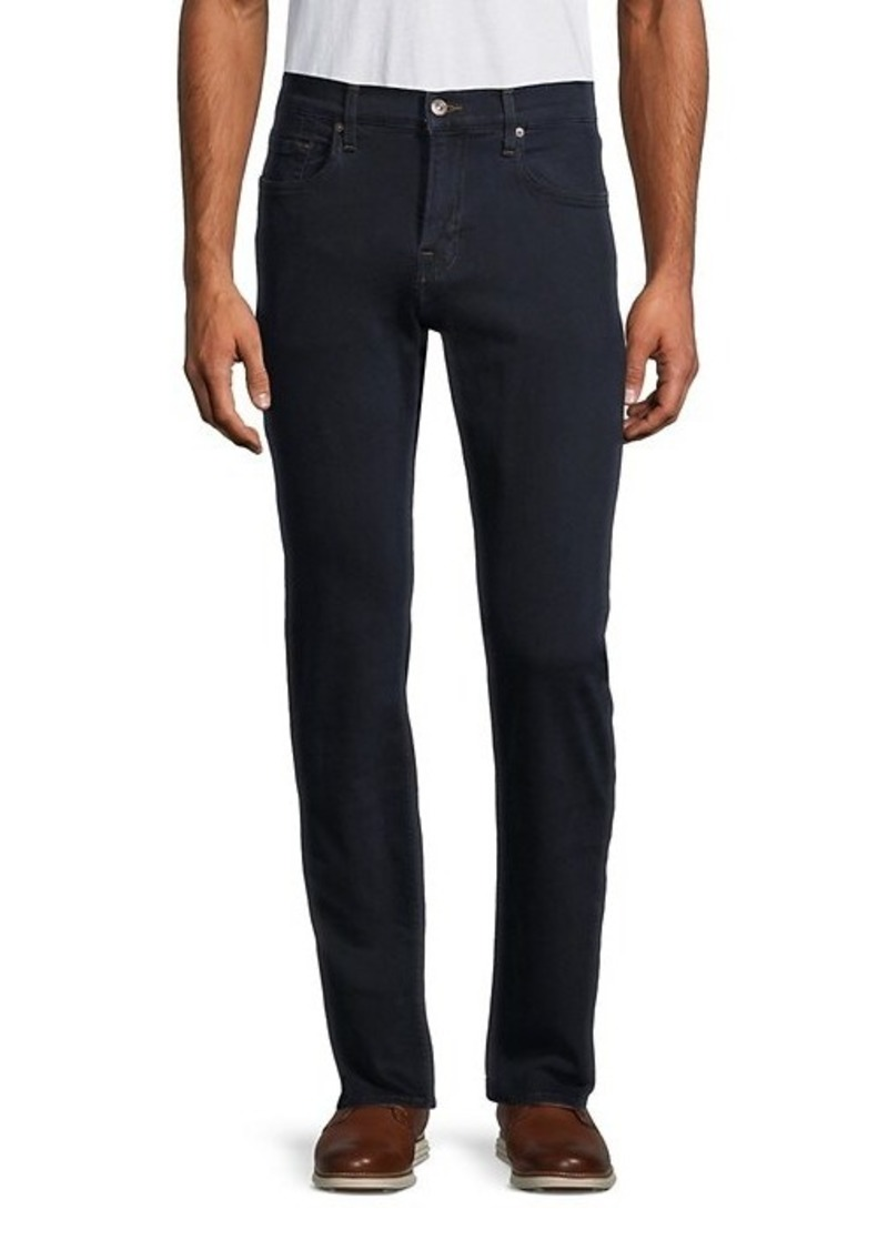 7 For All Mankind Slim Straight-Leg Jeans