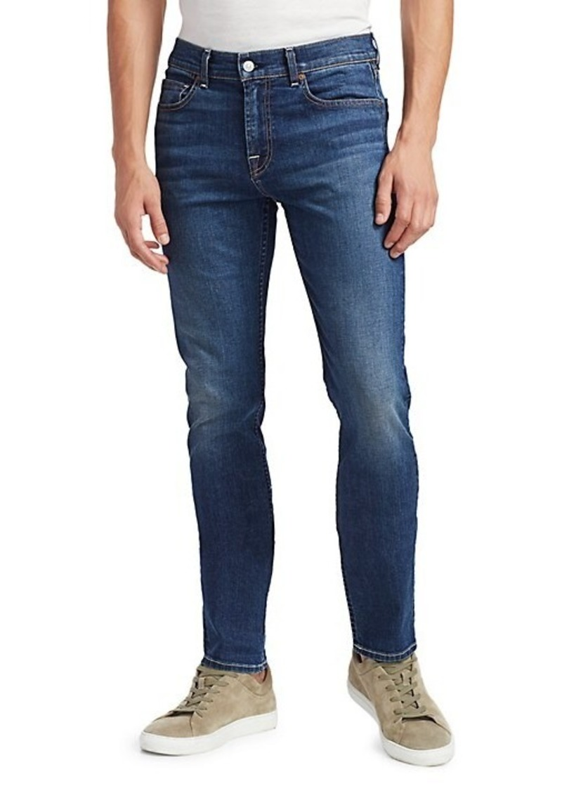 7 For All Mankind Slimmy Clean Pocket Jeans