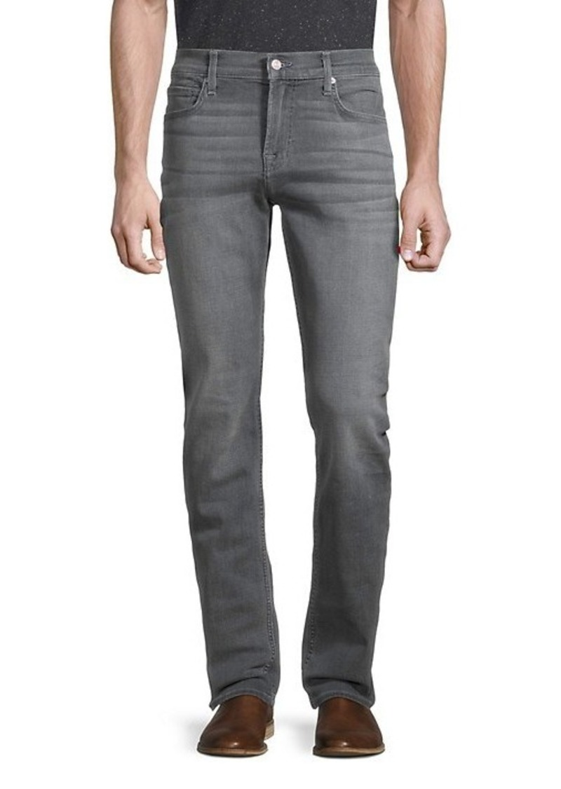 7 For All Mankind Slimmy Clean Slim-Fit Straight Jeans