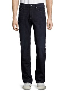 7 For All Mankind Slimmy Solid Slim-Fit Jeans