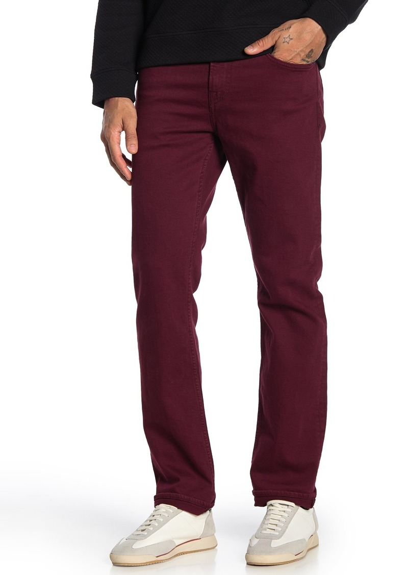 7 For All Mankind Slimmy Solid Slim Jeans