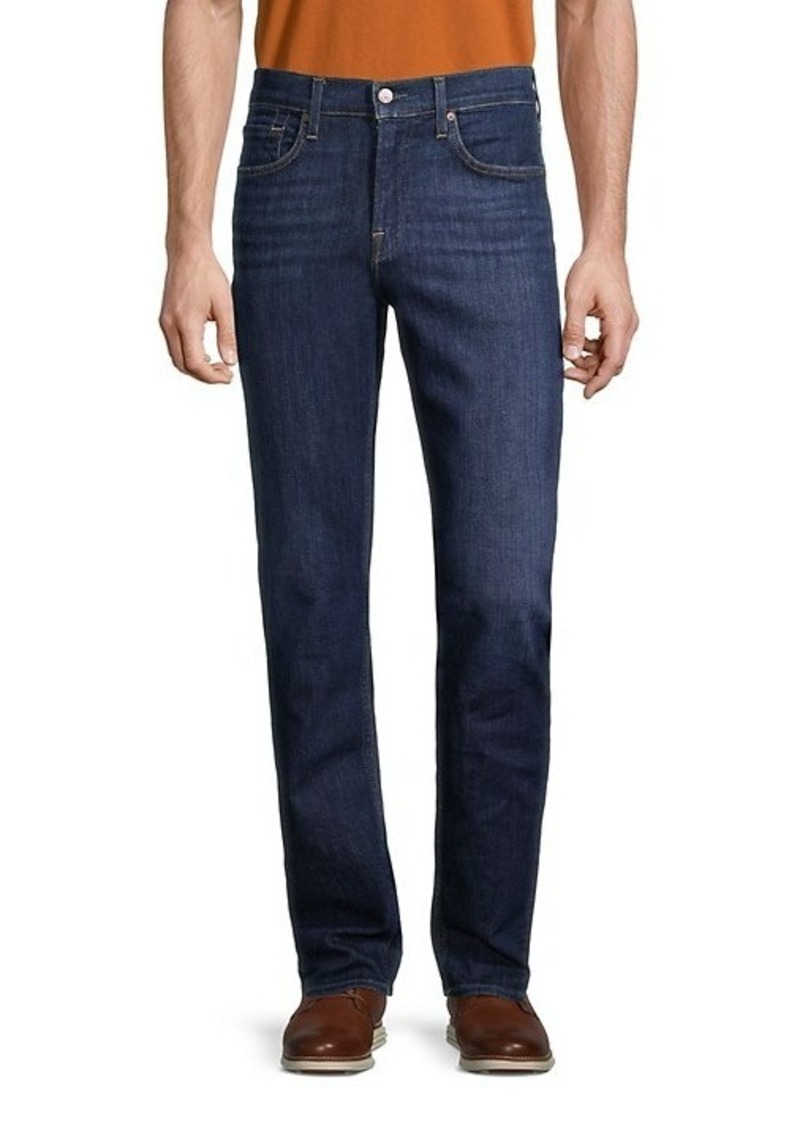 7 For All Mankind Slimmy Squiggle Slim-Fit Straight Jeans