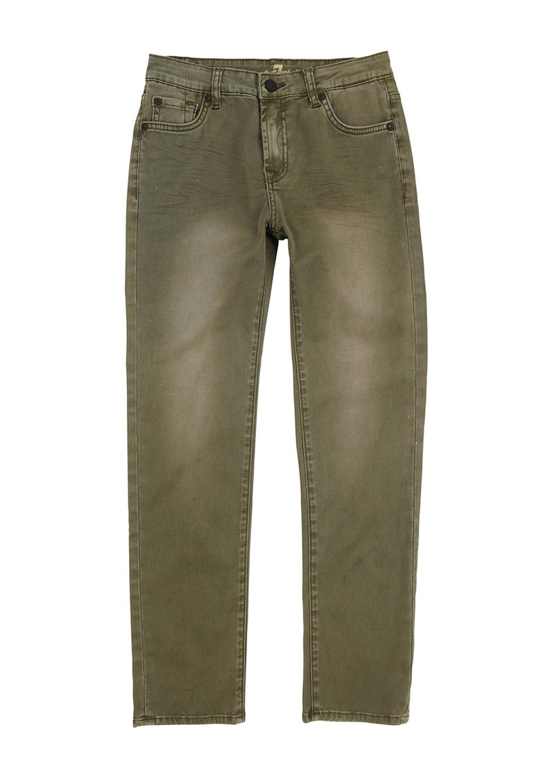 7 For All Mankind Slimmy Stretch Fit Jeans (Little Boys)