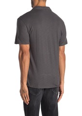7 For All Mankind Slub Short Sleeve Polo