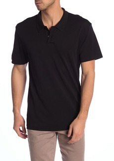 7 For All Mankind Solid Pique Polo