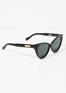 7 For All Mankind Sonix Kyoto Sunglasses in Black