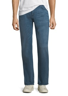 7 For All Mankind Standard Light-Whiskering Jeans