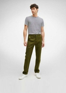 7 For All Mankind Stay Pressed Military Pant in Army