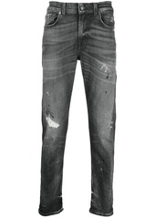 7 For All Mankind straight-leg trousers