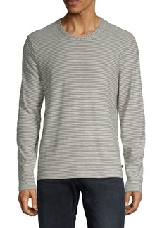 7 For All Mankind Striped Long-Sleeve Tee