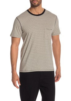 7 For All Mankind Striped Ringer Tee