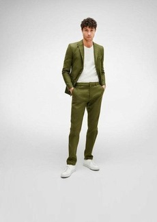 7 For All Mankind Tailored Cigarette Trouser in Army Green