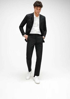 7 For All Mankind Tailored Cigarette Trouser in Black