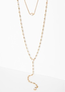 7 For All Mankind The 2 Bandits Starman Necklace in Gold