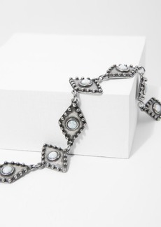 7 For All Mankind The 2 Bandits Wild Eyes Choker in Silver