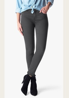 The Ankle Skinny in Charcoal Riche Sateen
