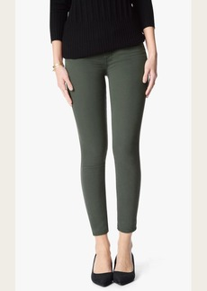 The Ankle Skinny in Olive Riche Sateen