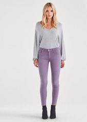 7 For All Mankind The Ankle Skinny in Violet Sky