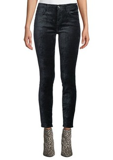 7 For All Mankind The Ankle Skinny Velvet Jeans