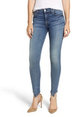 7 For All Mankind The Ankle Splice Hem Skinny Jeans
