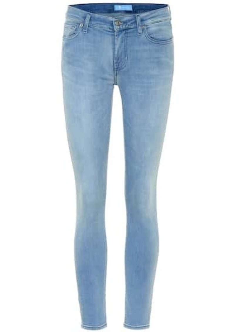 7 For All Mankind The Skinny B(AIR) low-rise jeans