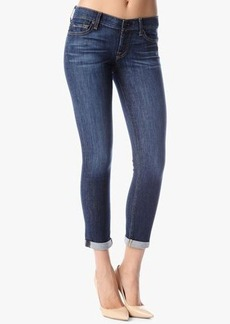 7 For All Mankind The Skinny Crop & Roll in Nouveau New York Dark