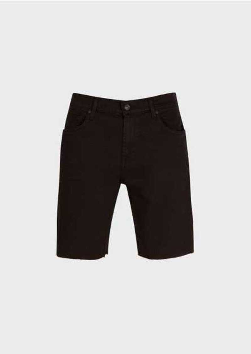 7 For All Mankind The Straight Short In Black