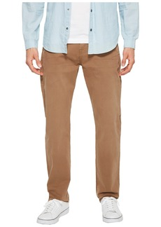 7 For All Mankind The Straight Tapered Straight Leg w/ Clean Pocket in Rich Khaki
