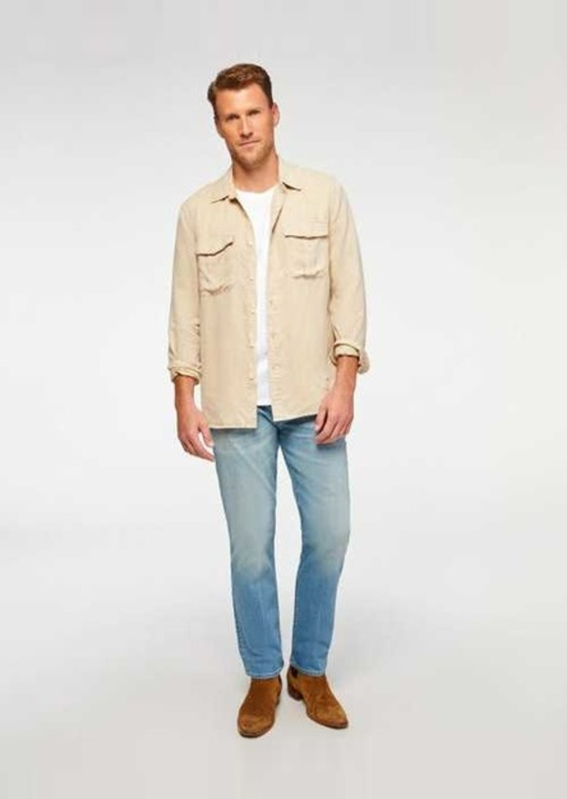 7 For All Mankind The Straight with Clean Pocket in Apollo
